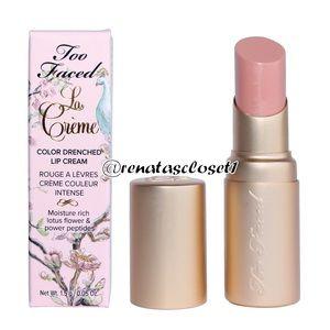 Too Faced La Crème Color Drenched Lip Cream NIB